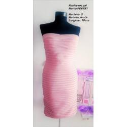 Rochie bandage roz pal