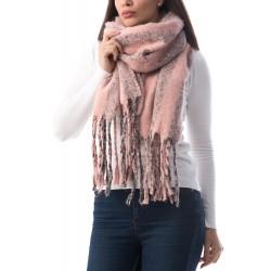 Fular din acrilic Soft Pink