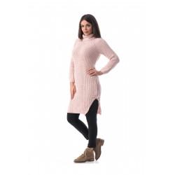 Pulover tip rochie Carla Pink