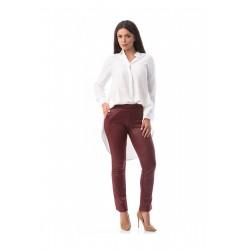 Pantaloni grena Rebeka