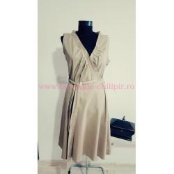 Rochie din bumbac cu cordon