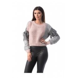 Pulover tricotat Clara Fashion