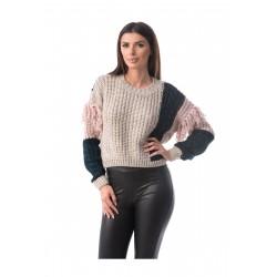 Pulover tricotat Clara Style