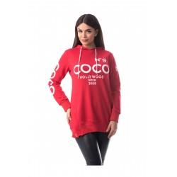 Hanorac rosu Coco No9