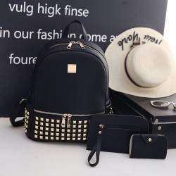 Set rucsac Golden Black