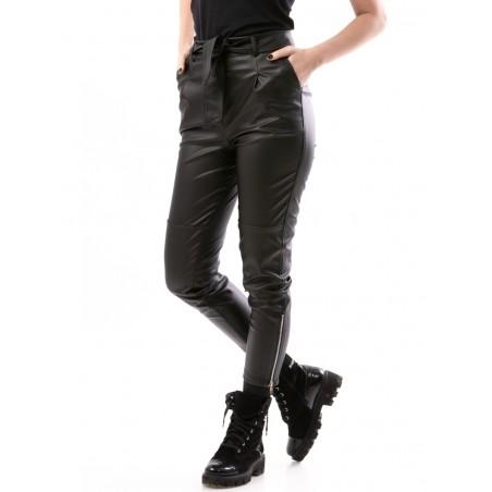 Pantaloni piele eco Wish