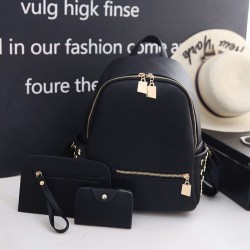 Set rucsac Simply Golden Black