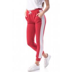 Pantaloni trening rosii Carina