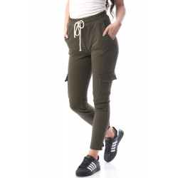 Pantaloni kaki Cargo