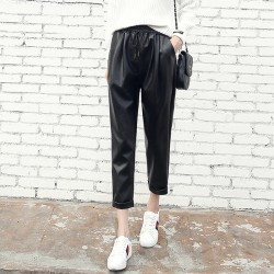 Pantaloni piele ecologica...