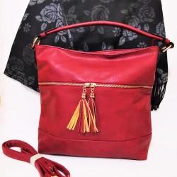 Set geanta cu sal din casmir
