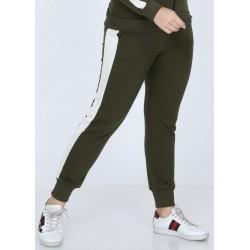 Pantaloni trening Carina Cool kaki