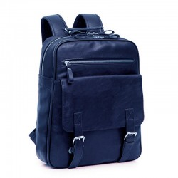 Rucsac Extra Spatious,bleumarin, piele ecologica