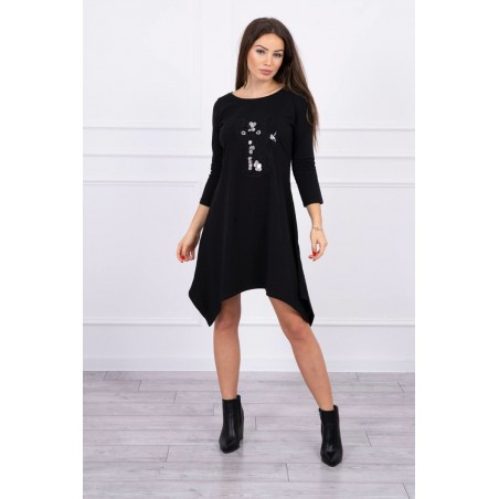 Rochie casual sport Kitty Kat, bumbac