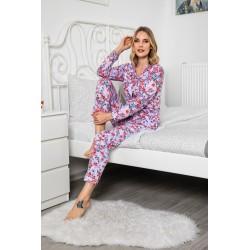Pijama Lux 100% bumbac,...