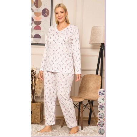 Pijama dama bumbac 100%