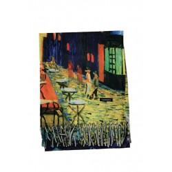 Esarfa casmir pictura Cameleonia, Van Gogh