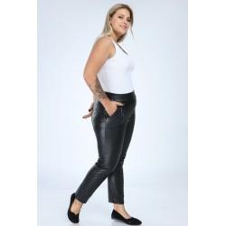 Pantaloni din piele ecologica marimi mari